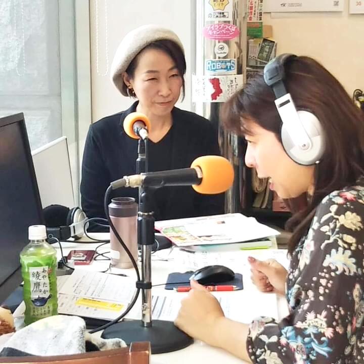 書道団体、無限未来の代表、熊谷雲炎がラジオつくばに出演しました!