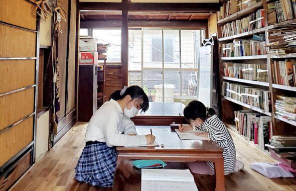 高円寺コクテイル書房、阿佐ヶ谷荻窪の無限未来西川梨世のアート書道教室