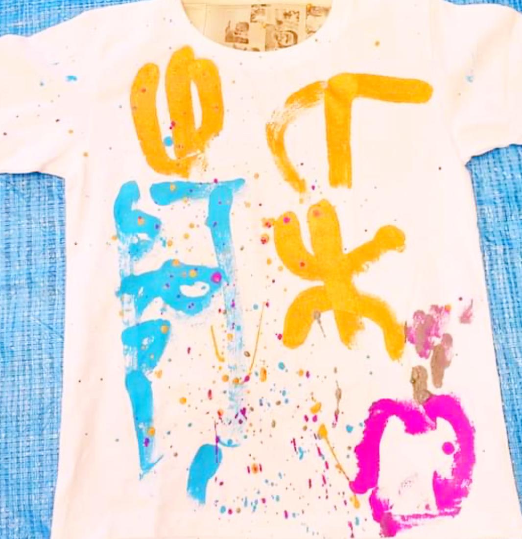 Tシャツ作りワークショップ1夏休み